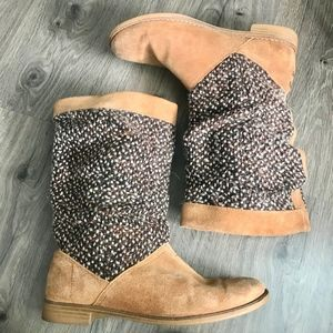 Toms Slouchy Women's Boots Size 9